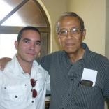 Yasel Toledo y Eduardo Heras León