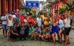 Foto de un encuentro anteior en Baracoa. Espere imágenes del recorrido por Granma.
