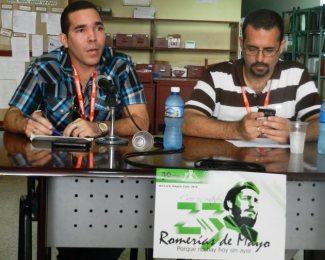 Yasel Toledo Garnache en panel de las Romerías de Mayo