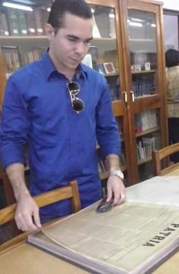 Yasel Toledo Garnache, periódico Patria