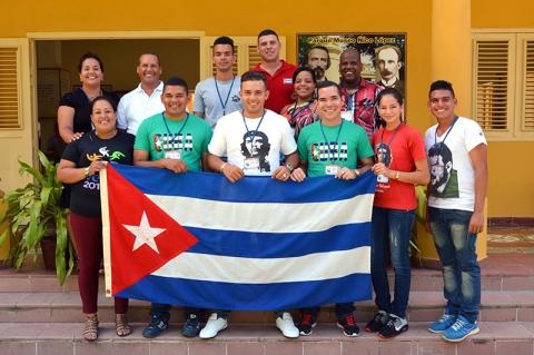 CUBA-DELEGADOS DE GRANMA ELECTOS AL FESTIVAL MUNDIAL DE LA JUVENTUD Y LOS ESTUDIANTES