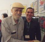 con Roberto Fenandez Retamar