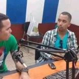 yasel toledo en programa de radio